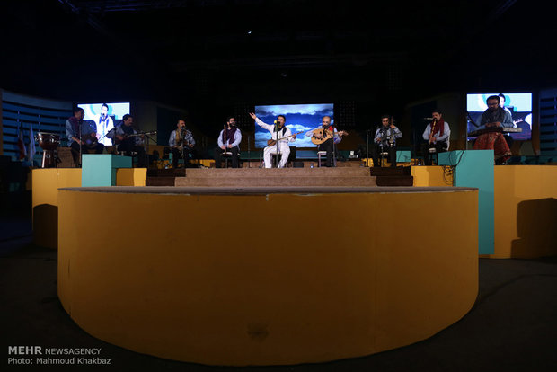 Homay's classical music concert in Kish Island