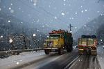 بازگشایی راه ۲۰ روستای محاصره در برف هشترود