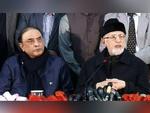 طاہر القادری اور آصف زرداری کا پنجاب کے وزیر اعلیٰ شہباز شریف سےاستعفیٰ کا مطالبہ