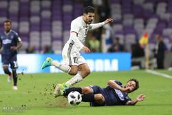 دیدار تیم های فوتبال الجزیره امارات ، اولند سیتی نیوزلند