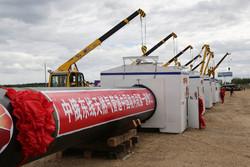 خط لوله های واردات گاز چین