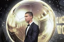 رونالدو فاتح توپ طلای ۲۰۱۷ شد/ مسی و نیمار پشت سر ستاره مادرید