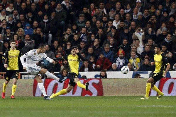 لیگ قهرمانان اروپا - گروه H/ پیروزی رئال مادرید مقابل دورتموند