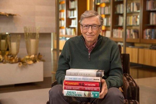 بیل گیتس ۵ کتاب محبوبش در سال ۲۰۱۷ را معرفی کرد
