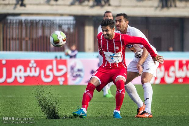 İran Futbol Süper Ligi'nin kritik maçından kareler