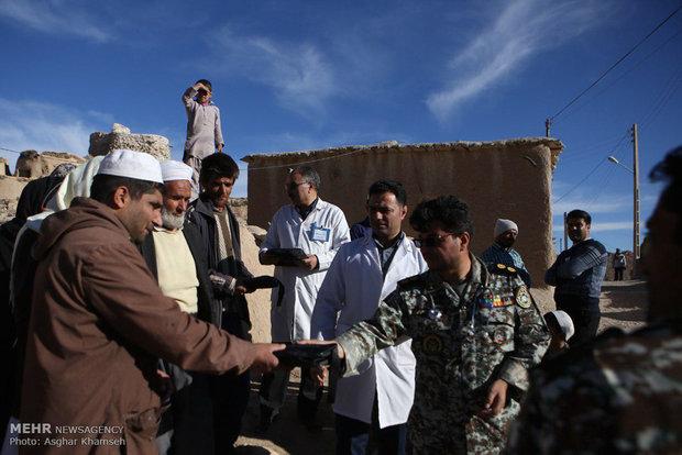 مقر خاتم الانبياء للدفاع الجوي يقدم خدمات طبية للسكان المحليين