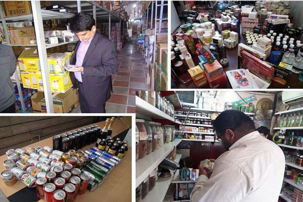 طرح نظارت بر مواد غذایی دارویی و بهداشتی در ورامین اجرا شد