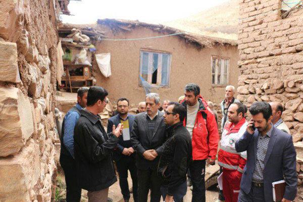 مسئولان استان قزوین از روستای زلزله زده آکوجان بازدید کردند