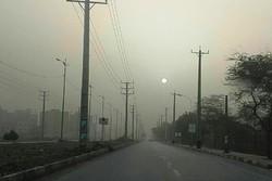 ظاهرة الغبار في مدينة بوشهر واغلاق المدارس