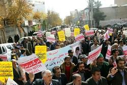 راهپیمایی مردم لرستان در محکومیت انتقال پایتخت رژیم صهیونیستی به قدس
