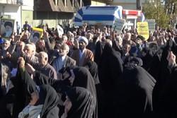 راهپیمایی ضدآمریکایی- صهیونیستی در گیلان برگزار شد