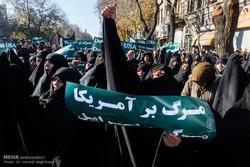 راهپیمایی مردم تبریز در محکومیت انتقال پایتخت رژیم صهیونیستی به بیت المقدس