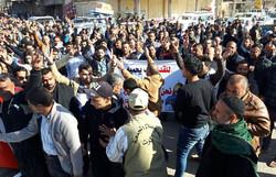 العراقيون يتظاهرون في عموم البلاد تنديدا بالقرار الامريكي بشأن القدس