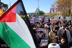 مظاهرة حاشدة في مدينة قم المقدسة تنديدا بقرار ترامب عن القدس /صور
