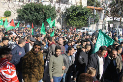 مسيرات حاشدة في الأراضي الفلسطينية تنديدا بقرار ترامب حول القدس