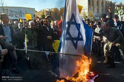 تظاهرات مردم کرج در محکومیت انتقال پایتخت رژیم صهیونیستی به قدس