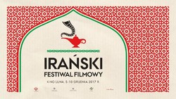 A poster for a festival of Iranian films in Warsaw
