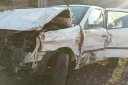 تصادف در آزاد راه خرمآباد - پل زال ۴ مجروح بر جای گذاشت