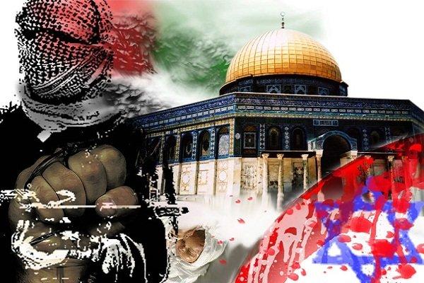 Palestinian protest in Al-Quds, West Bank, Gaza Strip against Trump's decision