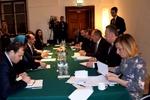 دیدار وزرای خارجه روسیه و افغانستان؛ حمایت از مذاکرات صلح کابل