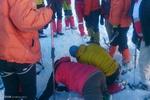 عملیات جستجوی کوهنوردان مفقود در اشترانکوه - کراپشده