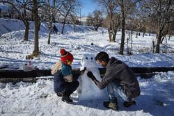 İran'ın sıcak iklim bölgelerinde kar yağışı sürprizi