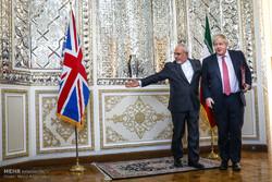 دیدار وزرای خارجه ایران و انگلیس