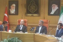 دیدار وزیر کشور با همتای ترک