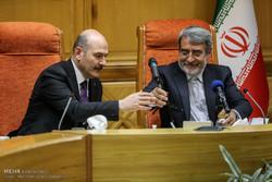 لقاء وزيري الداخلية التركي والايراني / صور