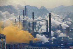 آلودگی صنایع چین