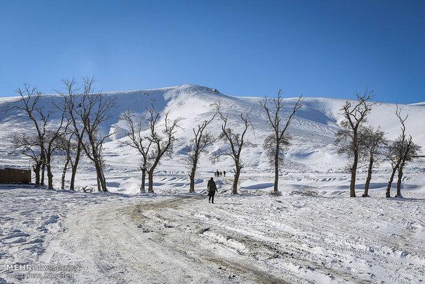 1st autumn snow in Hamedan