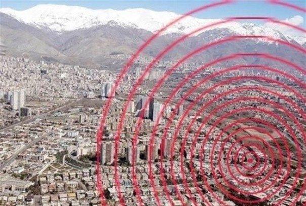 زلزله 5.2 ریشتری امشب تهران را لرزاند