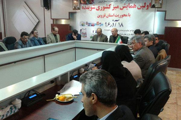 سهم شوینده ها در صادرات استان قزوین قابل توجه نیست