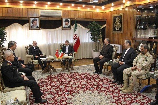Rahmani Fazli Türkiye İçişleri Bakanı ile görüştü