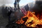 مقبوضہ فلسطین میں امریکہ، اسرائیل اور سعودی عرب کے خلاف مظاہرے
