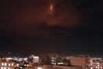 نور قرمز رنگ آسمان ایلام مربوط به پالایشگاه گاز است