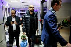 ورود گروه موسیقی شیلر به تهران