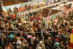 اقبال واسع على جناح ايران في السوق الدبلوماسي الخيري في العاصمة البوسنية