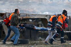 دو جوان فلسطینی مورد اصابت گلوله نظامیان اسرائیلی قرار گرفتند