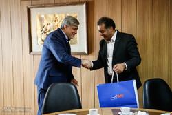 بازدید رئیس بانک صندوق قرض الحسنه مهر ایران از خبرگزاری مهر