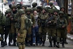 بازداشت دهها فلسطینی در طول ۴ روز گذشته از سوی نظامیان صهیونیست