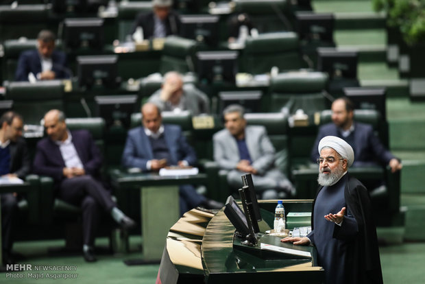 Iran not to remain silent against US new conspiracy: Rouhani