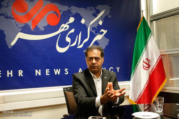 مدیرعامل بانک قرضالحسنه مهر ایران از خبرگزاری مهر بازدید کرد