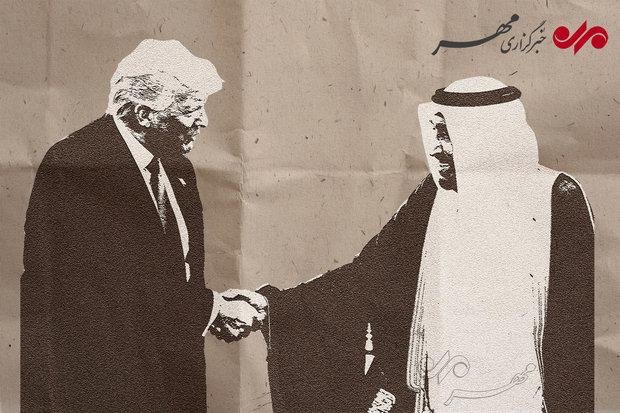 عربستان و آمریکا در خدمت ایران