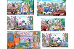 انیمیشن ترافیک از این مدلش