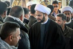 """احتفال """"النصر"""" بحضور قادة المقاومة الاسلامية في النجف الاشرف / صور"""