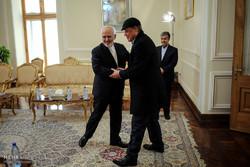 دیدار دبیر کل دی 8 و خداحافظی سفیر آفریقای جنوبی با آقای محمد جواد ظریف وزیر امور خارجه