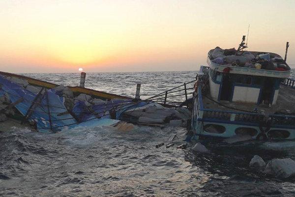 هشت دریانورد ایرانی در آب های جزیره کیش از خطر مرگ نجات یافتند