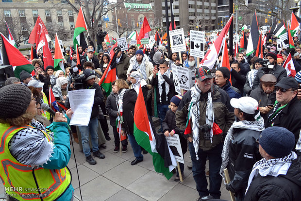 Rallies in Canada against Israeli-only Jerusalem