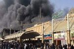 مصدومیت بیش از ۴۰ زائر ایرانی در نجف اشرف